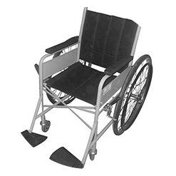 First wheel chair